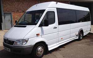 Minibus Hire Sheffield With Driver
