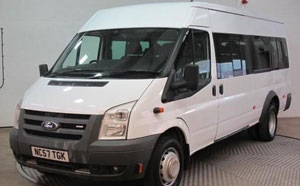 Minibus Hire With Driver Derby