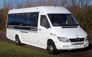 Minibus Hire With Driver Leicester